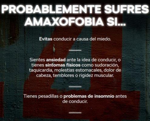 amaxofobia barcelona